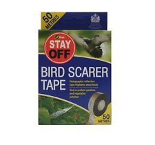 Vitax Bird Scarer Tape 50 metres. Use to protect Fruit and Vegetables from Birds
