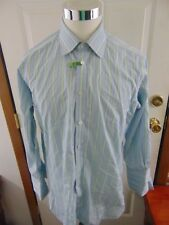 TURNBULL & ASSER EXCLUSIVE MADE IN ENGLAND FC DRESS SHIRT SIZE 16.5 X 32/33