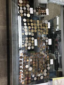 Lot of 198 WORLD FOREIGN COINs