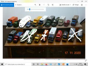 camions d'autrefois altaya ixo 1/43 lot 3