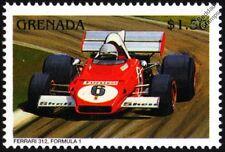 Ferrari 312 (de 3 litros V12) GP Sello de coche de carreras de fórmula uno