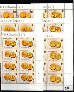 // 8X ROMANIA 2006 - MNH - COINS - MONEY