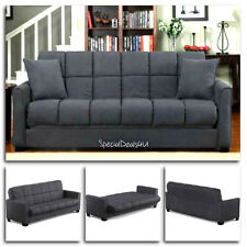 Convertible Sofa Bed Sleeper Furniture Couch Microfiber Living Room Modern Home