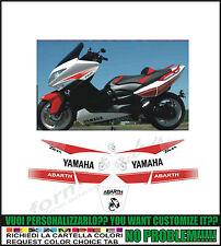 kit adesivi stickers compatibili tmax 2008 2011 replica abarth