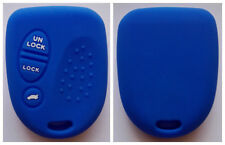 BLUE 3 BUTTON SILICONE KEY COVER FOR HOLDEN COMMODORE WH WK WL VS VT VX VY VZ