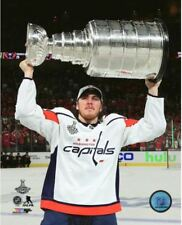TJ Oshie Washington Capitals Hoists Stanley Cup 8x10 Photo