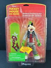 Disney Store Exclusive Mickey Mouse and Friends Goofy Extreme Snowboarder Figure
