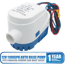 12V 1100Gph Boat Bilge Water Pump Automatic Submersible Auto With Float Switch