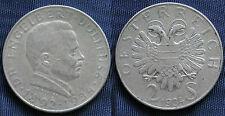 MONETA COIN AUSTRIA REPUBLIK ÖSTERREICH 2 SCHILLING 1934 ARGENTO SILVER  #3