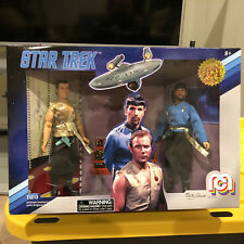 """MEGO Mirror Kirk & Spock 8"""" Articulated Action Figure Star Trek Limited Edition"""