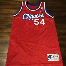 Vintage Champion Rodney Rogers Clippers Jersey Youth Large
