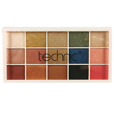 Technic Eyeshadow Palette 15 Pressed Pigment Goddess Shimmer & Glitter Colours