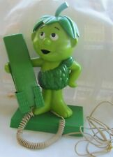 1984 Vintage Collectible Jolly Green Giant'S Little Sprout Telephone