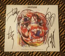 SWEET! Reanimate 3.0 The Covers EP by HALESTORM Signed Autographed CD by All