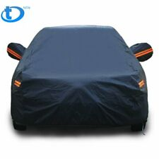 Full Car Cover Rain UV Dust Snow Resistant Universal Fit 3XXL Breathable PEVA