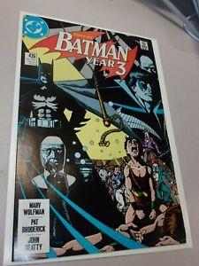 Batman #436 (HIGH GRADE) 1ST APPEARANCE TIM DRAKE ROBIN