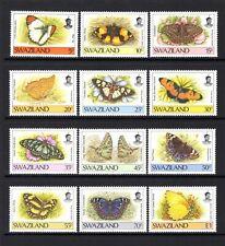 SWAZILAND 1992 BUTTERFLIES 2nd SERIES sg606-717 SUPERB MNH SET TO E1 VALUE