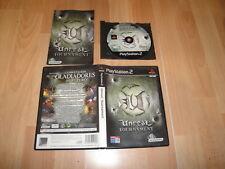 UNREAL TOURNAMENT DE EPIC GAMES INC - INFOGRAMES PARA LA SONY PS2 EN BUEN ESTADO