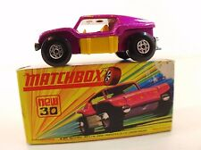 Matchbox New n° 30 Beach Buggy mint boxed/ neuf en boite