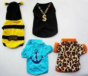 4pcs/set Cute Princess Pet Puppy Dog Cat Sweater Clothes  T Shirt + pet socks