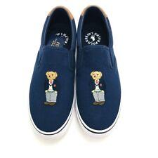 Ralph Lauren Polo Bear Sneaker Loafer Blue Mens 11