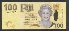 (BN 0096) 2007 Fiji 100 Dollars (CA), Hybrid Polymer Note - UNC