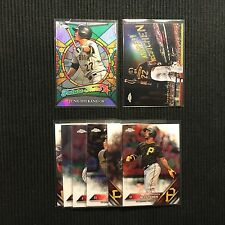 2016 TOPPS CHROME PITSBURGH PIRATES TEAM SET 8 CARDS WITH 2 INSERTS +