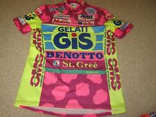 "Gelati Gis Benotto Giessegi Italian cycling jersey [6 - 42""] C 1990/91"