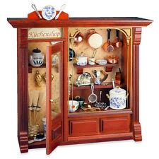 Reutter Porzellan Haushaltswarengeschäft Kitchen Shop Wandbild Puppenstube 1:12
