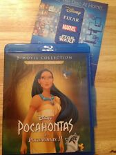 Pocahontas 2-Movie Collection (Blu-ray,2017,Canadian French)Authentic Disney