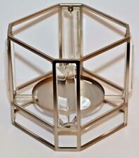Bath & Body Works Metal & Crystal Square 3 Wick Candle Sleeve