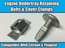 10x Clips For Citroen Peugeot Engine Undertray Retaining Bolt Cover Clamp 5+5