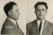 1924, ORIGINAL crime mugshot, ralph NATKIN, merchant, POLAND, rsp, CHICAGO PD