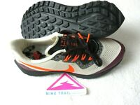 Nike Mens Air Zoom Pegasus 36 Trail Running Shoes White Orange Purple Size 12