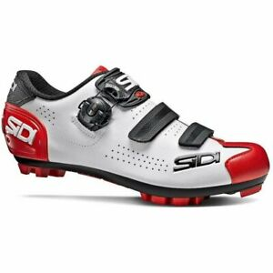 Sidi Trace 2 MTB Mountain Bicycle Cycle Bike Shoes White / Black / Red