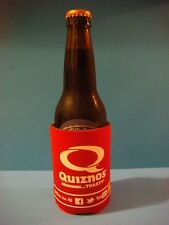 Beer Koozie Bottle Can Holder: Quiznos Sandwich Shop ~ Home of theToasted Sub