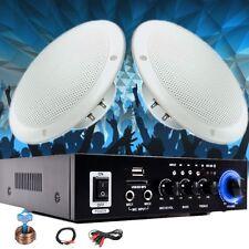Piscine Sauna Solarium Stéréo USB MP3 Bluetooth Amplificateur Haut-Parleur