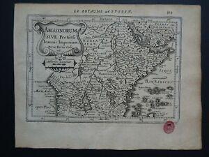 1630 Jansson / Mercator Atlas Kaerius map  AFRICA - Abyssinia - Abissinorum