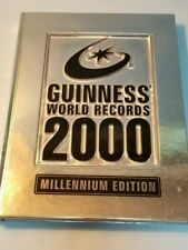 "Guinnes"" World Records 2000 Hardback Book Millennium Edition"
