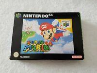 Super Mario 64 - Nintendo 64 N64 Game [PAL UKV] CIB
