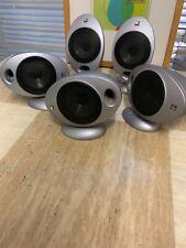 Set Of 5 KEF HTS 2001 Surround Sound Home Cinema Speakers