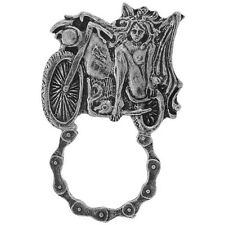 BIKER V-TWIN VIXEN SUNGLASS EYEGLASS HOLDER PEWTER  VEST JACKET PIN PINS USA