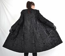 K831 Swakara Persianer Mantel Pelzmantel Pelz Fur Persian Lamb Coat Jacket ca. L