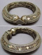 Ancien Bracelet ethnique en argent bas-titre OMAN ou YEMEN silver