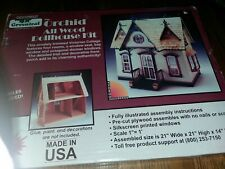 Greenleaf Dollhouse Kit Orchid Wooden Victorian House Nib
