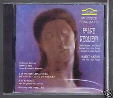 GABRIEL FAURE/ ST SAENS  CD NEW REQUIEM / PIE JESU/ FRANCOIS POLGAR