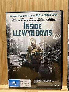 Inside Llewyn Davis Dvd Region 4 Rare