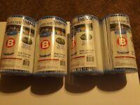 4 Filter Intex Pool Easy Set Type B Replacement Pump Cartridge 29005E Lot Pack