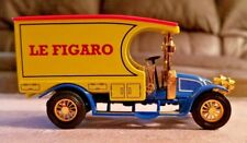 """Matchbox 1910 Renault AG """"Le Figaro"""" 4"""" Diecast """"Power Of The Press"""" YPP01"""