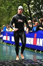 Triathlon Full 3/2mm Super Stretch Smooth Skin Neoprene Wetsuit. Ideal 4 Ironman